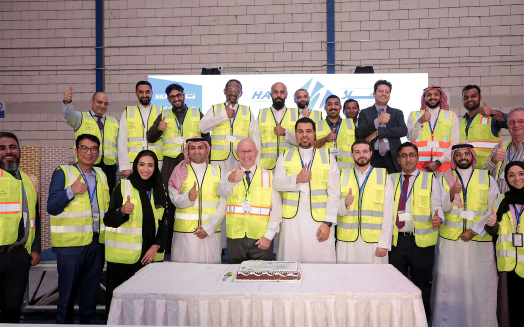 HALA Records Solutions expanded warehouse facility in Jeddah