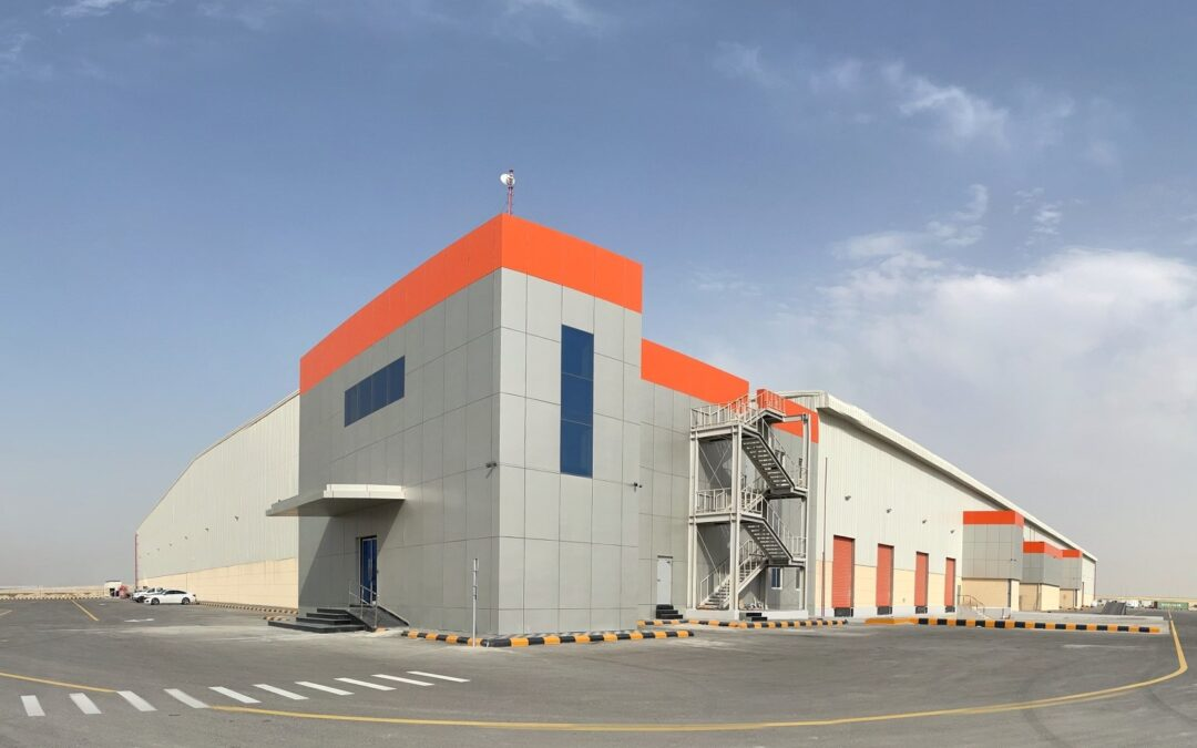 Custom Built Warehouse as Part of Logistics Park in Jubail